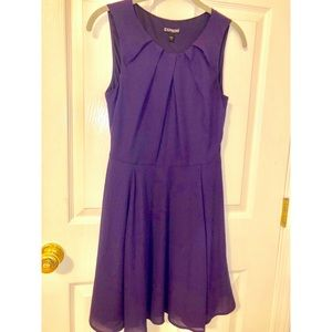 Express Royal Purple Dress